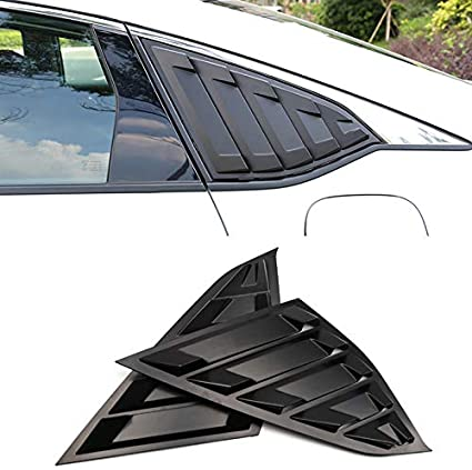 2PCS Matte Silver Side Air Vent Outlet Frame Trim For 2018 2019 Honda Accord