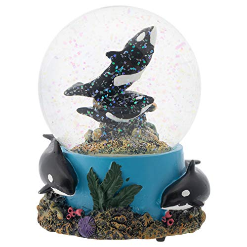 Elanze Designs Coral Reef Orca Pod 100MM Musical