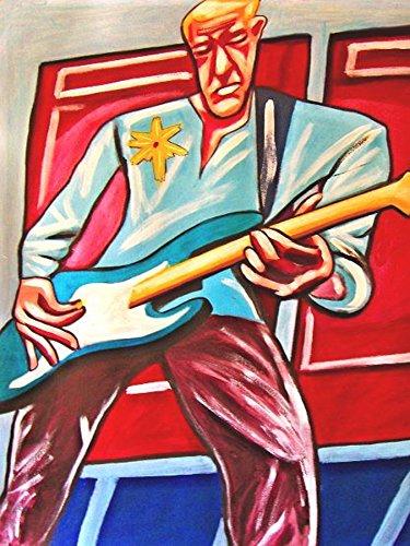 adam-clayton-print-poster-guitar-cd-lp-record-album-vinyl-u2-bass-rattle-hum-joshua-tree-achtung-bab