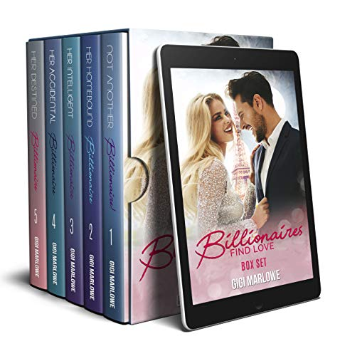 Billionaires Find Love Box Set: Second Chances and Secrets Sweet Romances by [Marlowe, Gigi]