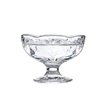 Amazon.com | CHOOLD Vintage Romantic Glass Footed Sakura Shape Heart ...