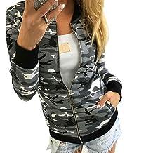 Flank Women Camouflage Jacket Coat Autumn Winter Street Jacket