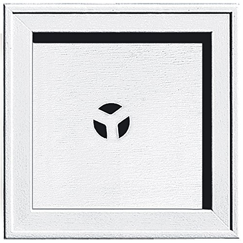 Builders Edge 130110004001 Recessed Square Mounting Block 001, (Square Mounting Block)