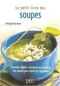Le Petit Livre des soupes par Philippe Chavanne