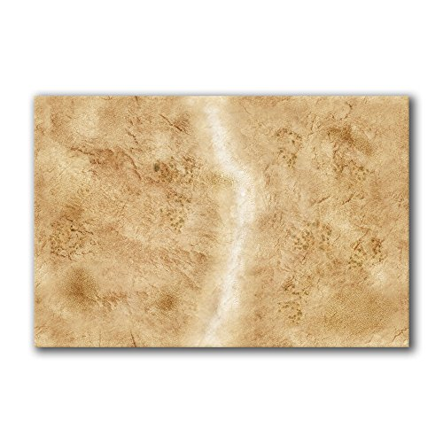 - Frontline Gaming - FLG Mat - Badlands 6x4' - Neoprene Wargaming Mat