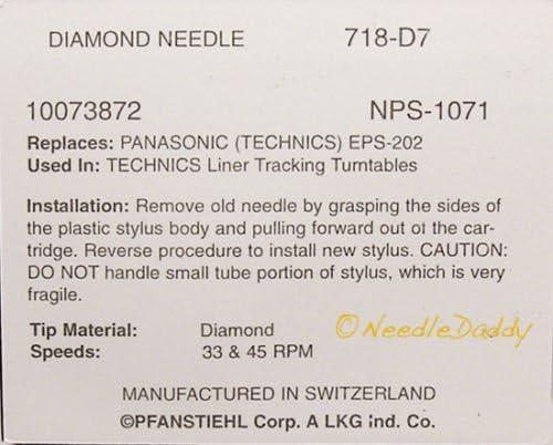 DL5 SL-B210 SL-B200 SL-BD20 NEW TURNTABLE STYLUS FITS Technics SL-BD22