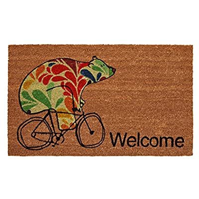 "Calloway Mills 122022436 Bear Fun Doormat 24"" x 36"" Multicolor"