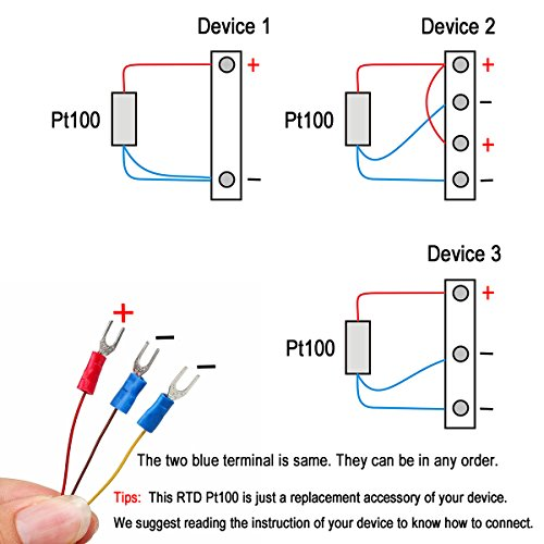 rtd wiring diagrams polarity 3 wire rtd wiring diagram crocsee rtd pt100 temperature sensor probe 3 wires 2m ...