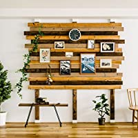 No Tool Assembly of a Sturdy Floor to Ceiling Wood Post DIY Wall Shelves and Decorative Posts 2 x 4 Bracket Set to Build Vertical Storage Great for Renters No Wall Damage