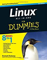 Linux All-in-One For Dummies, 5th Edition Front Cover