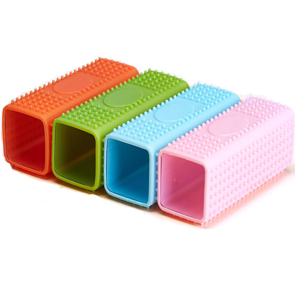 Green Pet Rubber Hair Removal Brush for Lint and Dust,Clothes, Beds, Carpets and Fur Animals.
