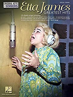 Book Cover: Etta James: Greatest Hits - Original Keys for Singers