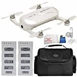 ZeroTech DOBBY Pocket Drone - Includes Flight Battery + Medium Carrying Case + 5 Piece Cleaning Kit + Microfiber Cleaning Cloth