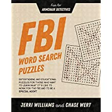 FBI Word Search Puzzles: Fun for Armchair Detectives