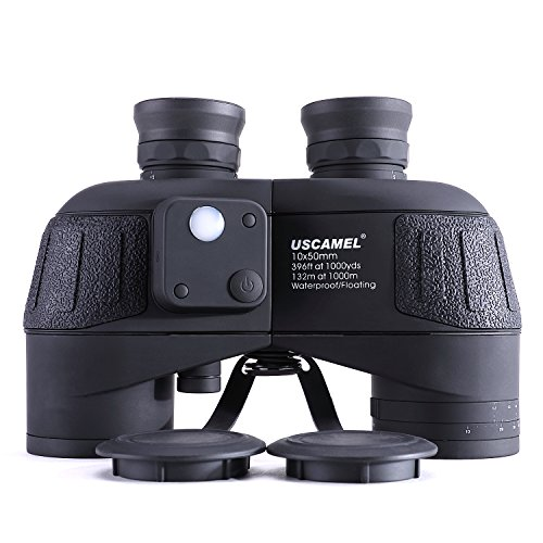 USCAMEL 10x50 Marine Binoculars for Adults, Military Binocul