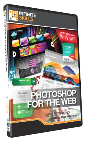 Learning Photoshop for the Web - Training DVD by Infiniteskills