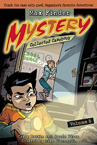 Read Online Max Finder Mystery Collected Casebook Volume 5 PDF