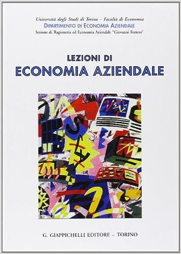lezioni di economia aziendale giappichelli pdf download