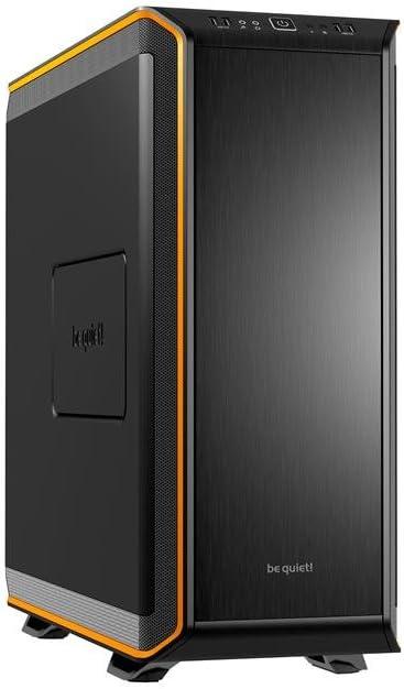 be quiet! Dark Base 900 Escritorio Negro, Naranja - Caja de Ordenador (Escritorio, PC, ABS sintéticos, Aluminio, Acero, Negro, Naranja, ATX,EATX,Mini-ITX,XL-ATX, 18,5 cm): Amazon.es: Informática