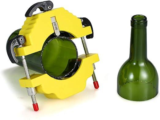 mewmewcat Botella de Vidrio Cortador de Botellas de Bricolaje ...