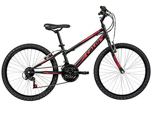 Bicicleta Lazer Caloi Max Aro 24 - 21 Velocidades - Preto