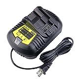 Nastima Replacement Dewalt 10.8V 12V 14.4V 18V 20V Li-ion Battery Charger with US Plug For Dewalt DCB101 DCB105 DCB107 DCB112 DCB120 DCB200 DCB201 DCB182 DCB203