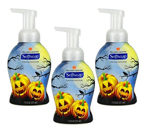 Set of 3 - 7.5 Fl Oz Halloween Themed Softsoap Foaming Hand (Loofah Costume Diy)