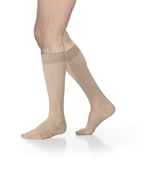 7c0ca60addd Sigvaris 862 Select Comfort Women s Closed Toe Knee Highs w Grip Top -20-30  mmHg Long Crispa LL Long 862CLLW66 S  Amazon.ca  Health   Personal Care