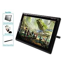 "Huion GT-185 18.4"" Diagonal IPS 8 Express Keys Interactive Graphics Pen Tablet Monitor Display"
