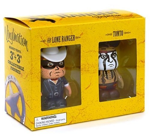 Disney Theme Park Vinylmation - The Lone Ranger and Tonto - 3
