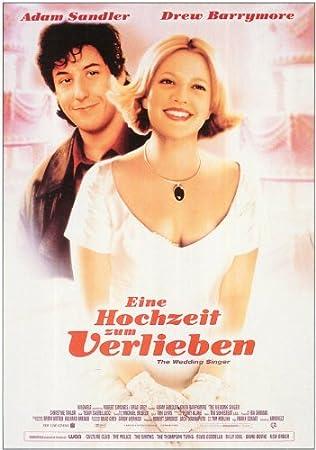 The Wedding Singer Poster Movie German 11 X 17 In