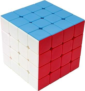 Maomaoyu Cubo Magico 4x4 4x4x4 Original Puzzle Cubo de la ...