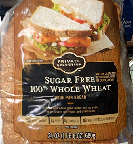 kroger-private-selection-sugar-free-100-whole-wheat-bread-24-oz-loaf-pack-of-2