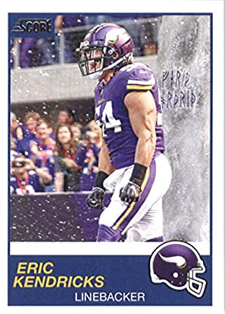 sports shoes f70ea 3986e Amazon.com: 2019 Score Football #242 Eric Kendricks ...