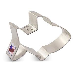 Baby Shark Cookie Cutter - 3.75 Inch - Ann Clark - USA Made Steel