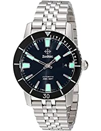 Mens ZO9250 Heritage Automatic Stainless Steel Watch. Zodiac