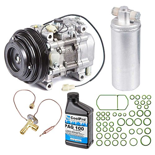 Mazda Miata Ac Compressor (New Genuine OEM AC Compressor & Clutch + A/C Repair Kit For Mazda Miata MX-5 NA - BuyAutoParts 60-83869RN New )