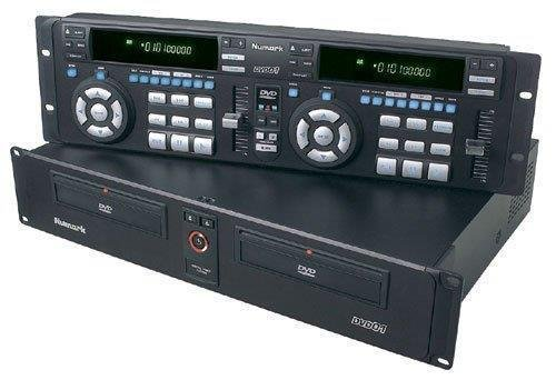 Professional Dj Dual Cd Player (Professional Dual DVD / CD Player)