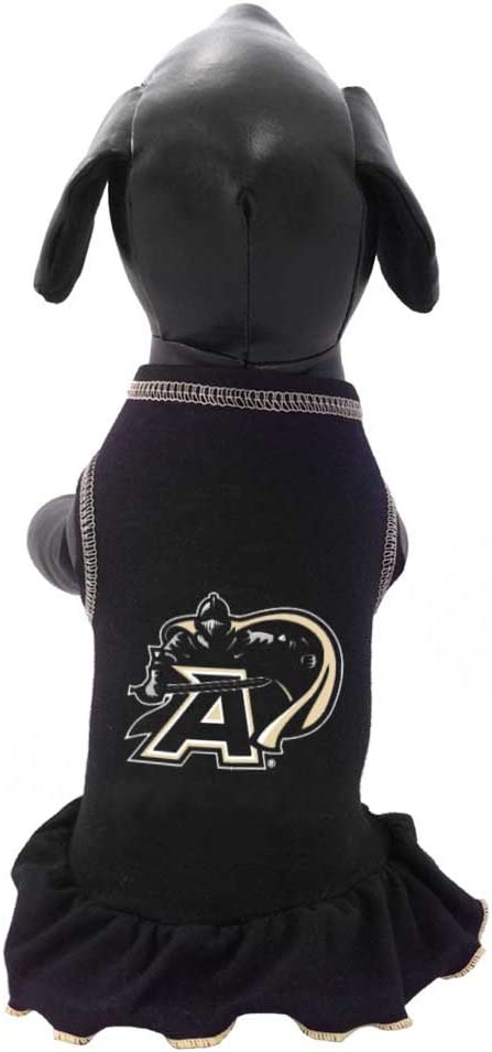 All Star Dogs NCAA Army Black Knights Dog Cheerleader Dress