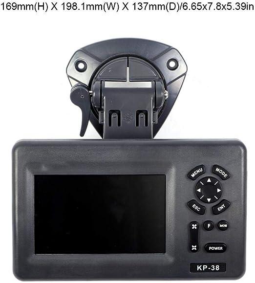 Marine Navigator LCD LCD en color de 5 pulgadas GPS IPX5 Plotter gráfico marino a prueba de agua Satélite: Amazon.es: Coche y moto