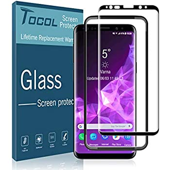 Amazon com: amFilm Glass Screen Protector for Samsung Galaxy