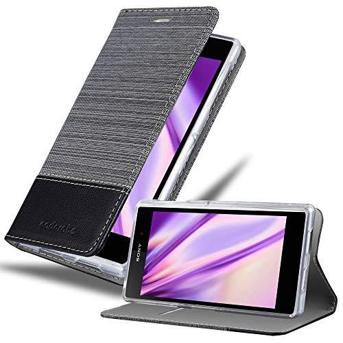 Cadorabo Book Case Compatible with Sony Xperia Z1