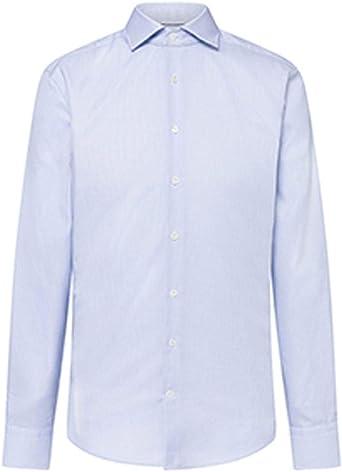 Camisa Hackett MYF JRY Twill CHK Azul Hombre 150 Azul: Amazon.es: Ropa y accesorios