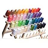 40 Spools Polyester Embroidery Machine Thread Bright and Beautiful Colors for Brother Babylock Janome Singer Pfaff Husqvarna Bernina Machines