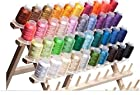 40 Spools Polyester Embroidery Machine Thread Bright and Beautiful Colors for Brother Babylock