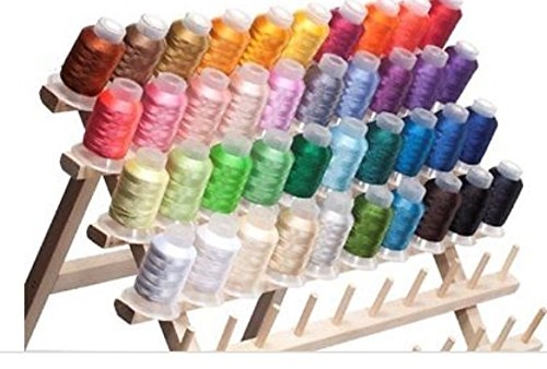Spools Polyester Embroidery (40 Spools Polyester Embroidery Machine Thread)