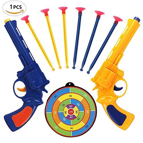 Pinovk Classic Toy Gun with Soft Bullets Foam Dart Gun Blaster Toy Suction Darts Shooting (Powerline Halloween Costume)
