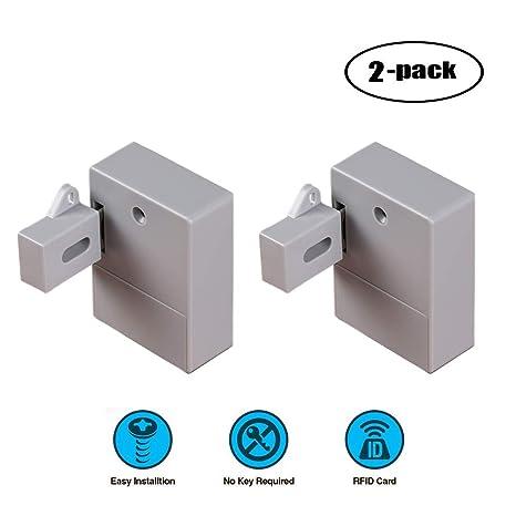 Amazon.com: WOOCH Candados RFID para armarios ocultos DIY ...