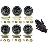 (6) Deck Wheel / Roller Kits for Exmark Viking Lazer Z Toro Groundsmaster Zero Turn Mower