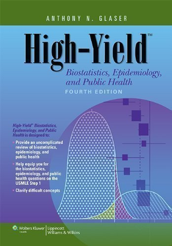 High-Yield Biostatistics, Epidemiology, and Public Health (High-Yield Series) 4th (fourth) Edition by Glaser MD Ph.D, Anthony N. published by Lippincott Williams & Wilkins (2013)